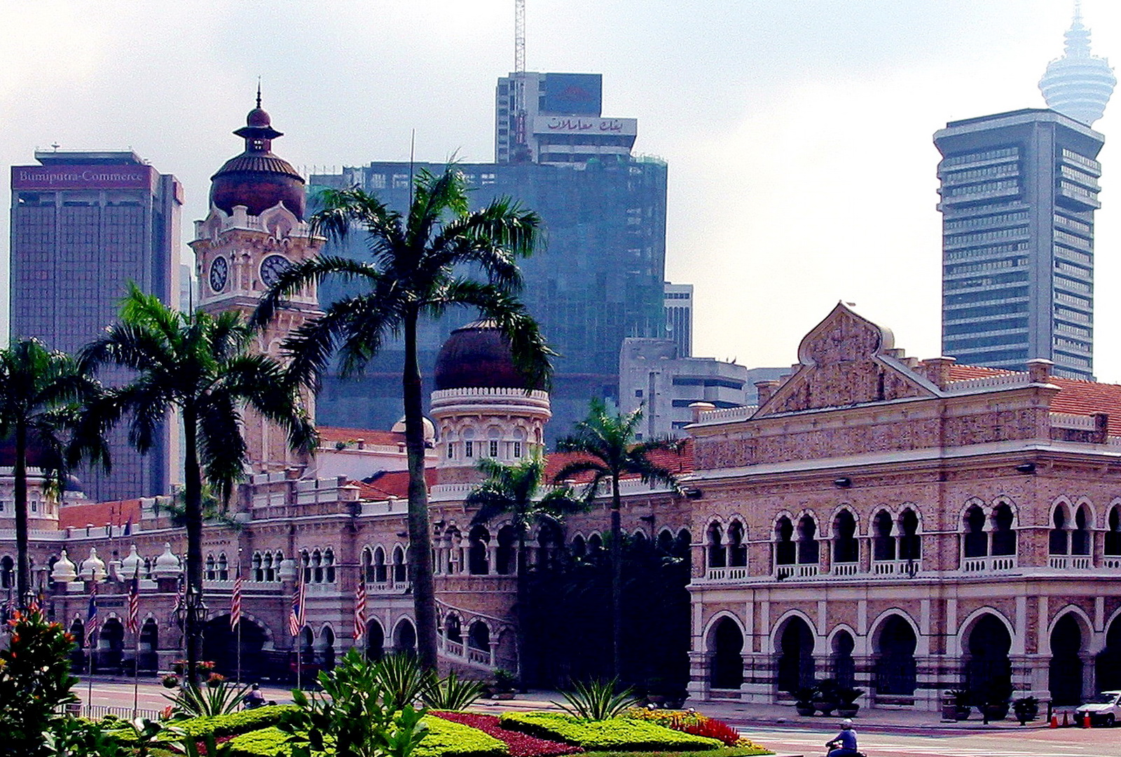 The old and the new, Kuala Lumpur