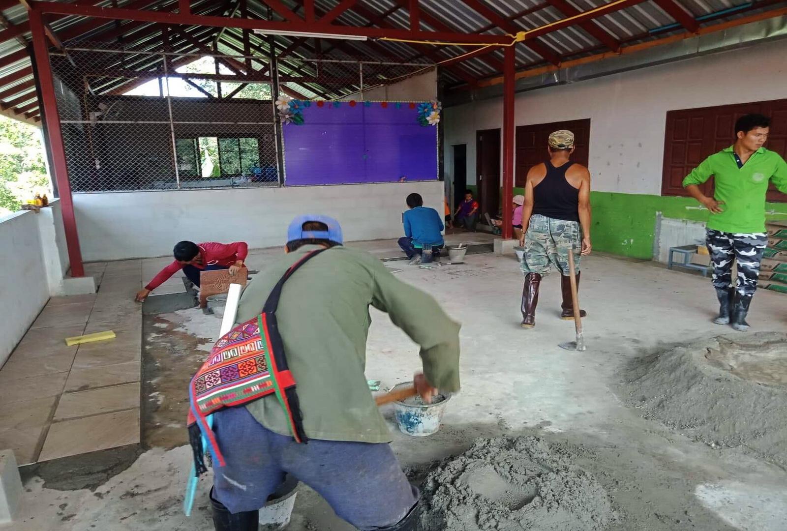 Ban Phayaprai daycare centre, Chiang Rai