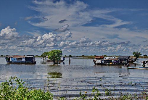 The Sangkar River, Cambodia