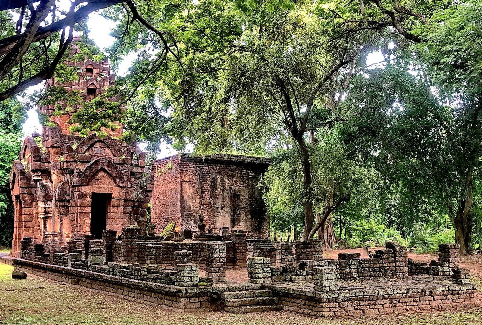 Wat Chao Chan at Chaliang.