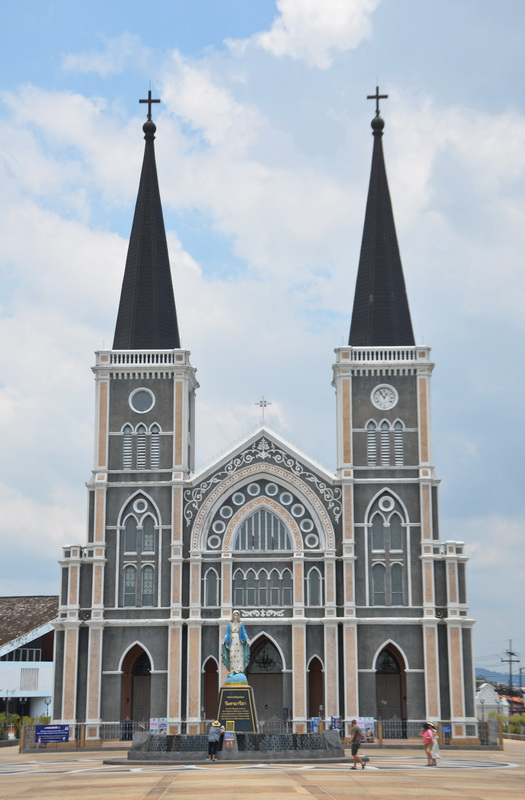 Chanthaburi's impressive Cathedral of the Immaculate Conception